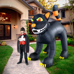 large cat halloween Inflatables