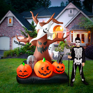 haunted tree ghost halloween Inflatables