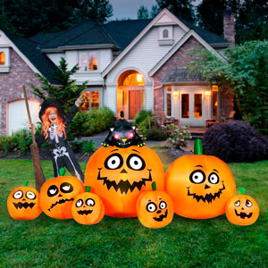 pumpkin patch halloween Inflatables