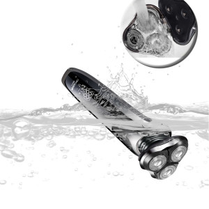 Electric Razor for Men 4 in 1 Rotary Shaver Beard Trimmer Nose Hair Trimmer Wet/Dry Waterproof USB Fast Charging