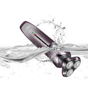 Electric Razor for Men 3 in 1 Rotary Shaver Beard Trimmer Nose Hair Trimmer Wet/Dry Waterproof USB Fast Charging