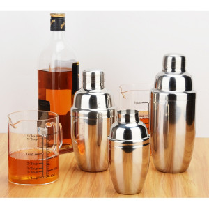 Stainless Steel Cocktail Drink Vibrating Screen Mixer Party Bar Drink Mixer Size 250ml-750ml