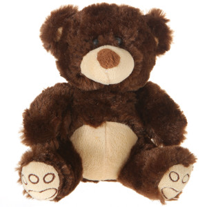 "7"" Plush Brown Bear By Giftable World®"